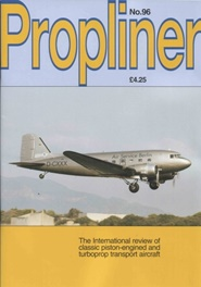 Tidningen Propliner Aviation Magazine 4 nummer
