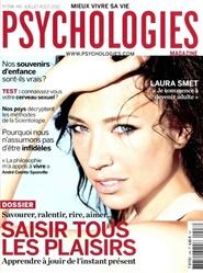 Tidningen Psychologies: Pour Mieux Vivre Notre Vie 11 nummer