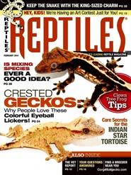 Tidningen Reptiles 12 nummer