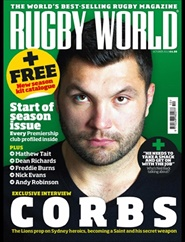 Tidningen Rugby World 12 nummer
