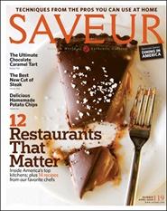 Tidningen Saveur (US Edition) 9 nummer