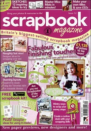 Tidningen Scrapbook Magazine 9 nummer