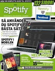 Tidningen Spotify-Guiden 1 nummer