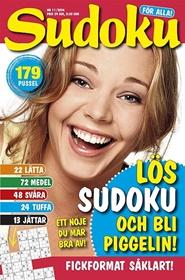 Tidningen Sudoku för alla 9 nummer