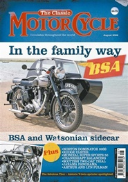 Tidningen The Classic Motorcycle 12 nummer