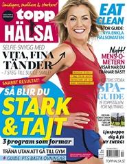 Tidningen ToppHälsa 3 nummer