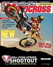 Tidningen Transworld Motocross 12 nummer
