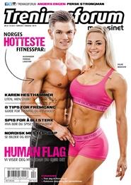 Tidningen Treningsforum magasinet 5 nummer