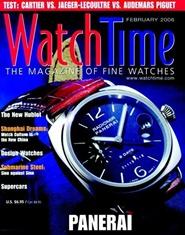 Tidningen Watch Time 6 nummer
