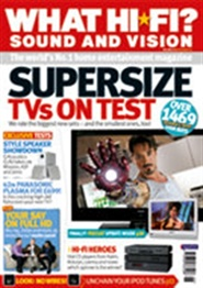Tidningen What Hi-fi Sound And Vision 13 nummer