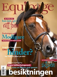 Framsida: tidningen Equipage