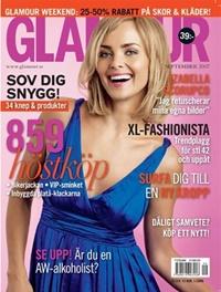 Framsida: tidningen GLAMOUR