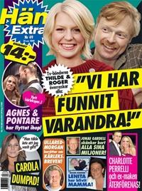 Framsida: tidningen Hänt Extra