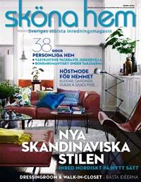 Framsida: tidningen Sköna hem
