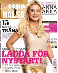 Framsida: tidningen ToppHälsa
