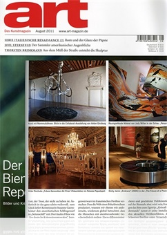 Tidningen Art-das Kunstmagazin