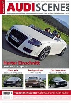 Tidningen Audi Scene Live