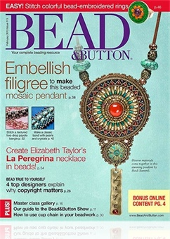 Tidningen Bead & Button