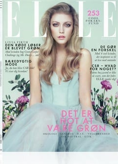 Tidningen Elle (Danish Edition)