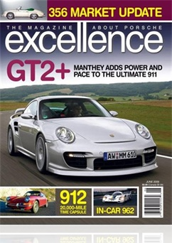 Tidningen Excellence, A Magazine About Porsche Cars