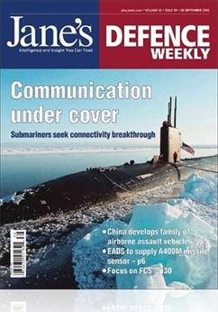 Tidningen Jane´s Defence Weekly