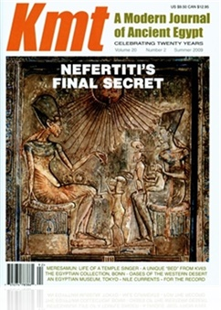 KMT: A Modern Journal Of Ancient Egypt
