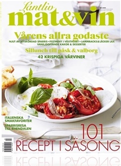 Tidningen Lantliv Mat & Vin