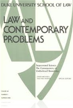 Tidningen Law & Contemporary Problems
