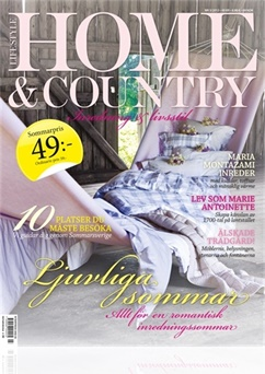 Tidningen Lifestyle Home & Country