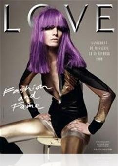 Tidningen Love Magazine