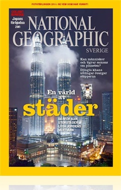 Tidningen National Geographic