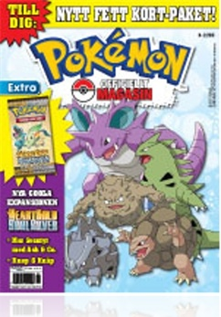 Tidningen Pokemon Officiellt Magasin
