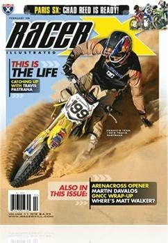 Tidningen Racer X Illustrated