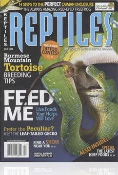 Tidningen Reptiles