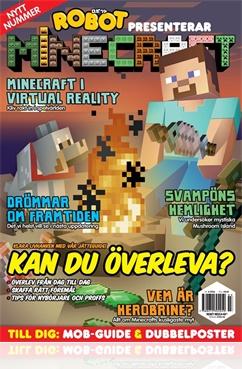 Robot presenterar Minecraft