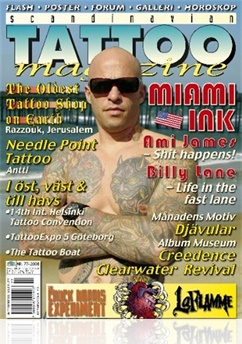 Tidningen Scandinavian Tattoo Magazine