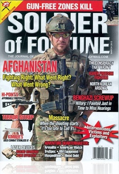 Tidningen Soldier Of Fortune