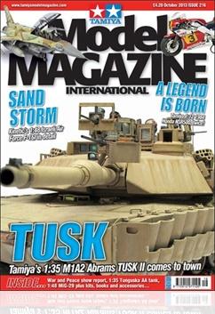 Tidningen Tamiya Model Magazine International