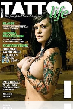 Tidningen Tattoo Magazine