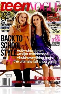 Tidningen Teen Vogue