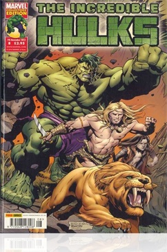 Tidningen The Incredible Hulks
