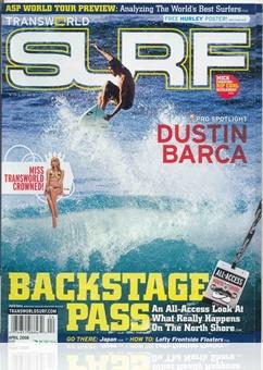 Tidningen Transworld Surf