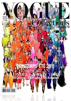 Tidningen Vogue Collections (French Edition)