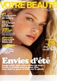 Tidningen Votre Beaute