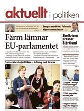 Tidningen Aktuellt i Politiken