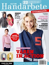 Tidningen Allt om handarbete Stickmagasin