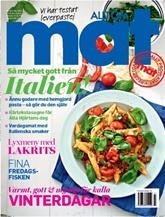 Tidningen Allt om Mat