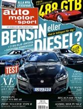 Tidningen Auto Motor & Sport