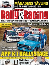 Bilsport Rally&Racing prenumeration