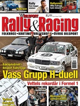 Tidningen Bilsport Rally&Racing